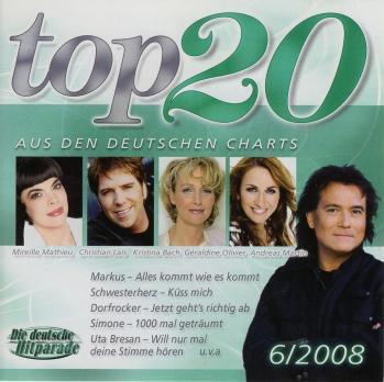 Top 20 aus den deutschen charts 6 2008