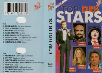 Top des stars vol 2 cassette audio 1993