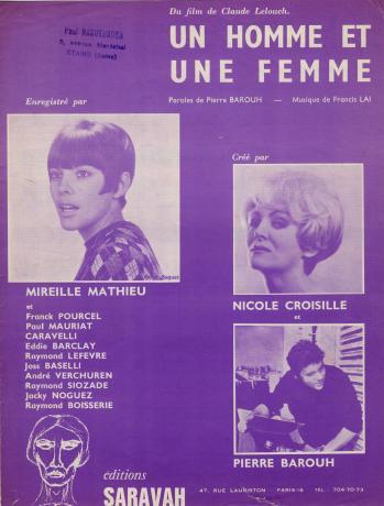 Un homme et une femme 2eme version 1966