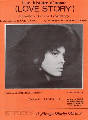 Une histoire d amour 1970