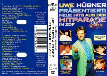 Uwe hubner prasentiert cassette audio 1996