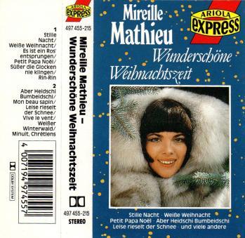 Wunderschone weihnachtszeit cassette audio